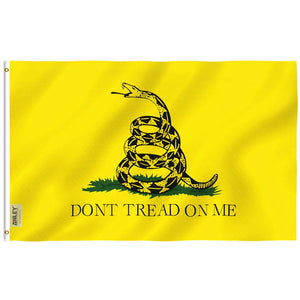 Don't Tread On Me / Gadsden Flag 3'x5'