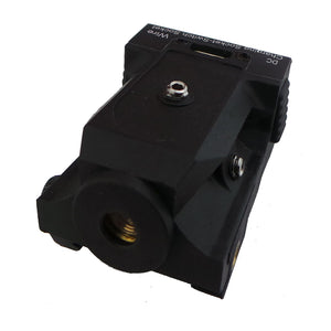 Ultra-Compact Rechargeable Green Dot Laser with Rail Mount