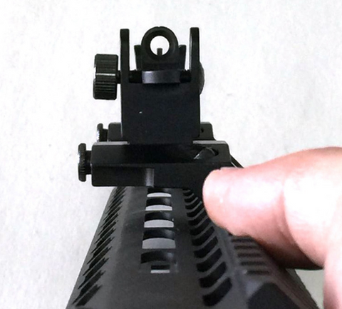 45 Degree Offset Flip Up Iron Sights