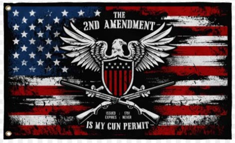 The 2nd Amendment is My Permit Flag