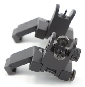 Flip Up Front and Rear 45 Degree Offset Sights