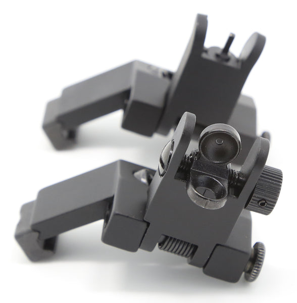 Flip Up Front And Rear 45 Degree Offset Sights Buis For
