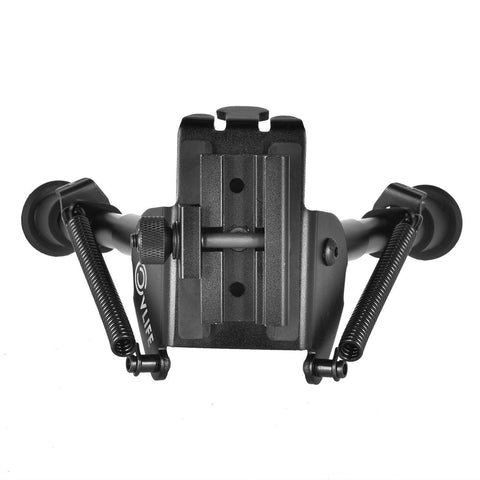 "Image of Heavy Duty Adjustable 6-9"" Bipod with 360 Degree Swivel Adapter"