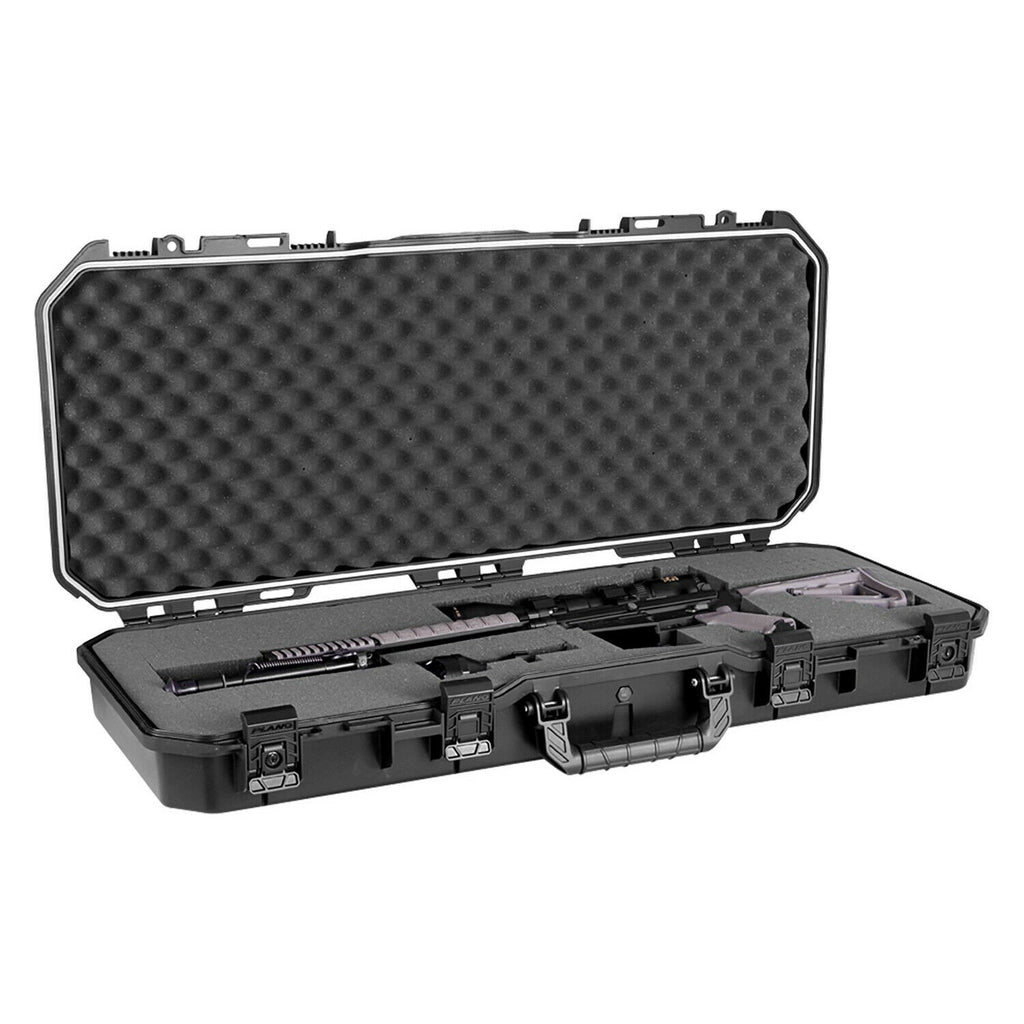"36"" All Weather Hard Sided Tactical Rifle Long Gun Case - Black"