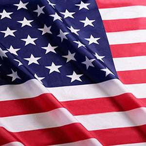 American US Flag - 3x5 foot - Vivid Color and UV Fade Resistant