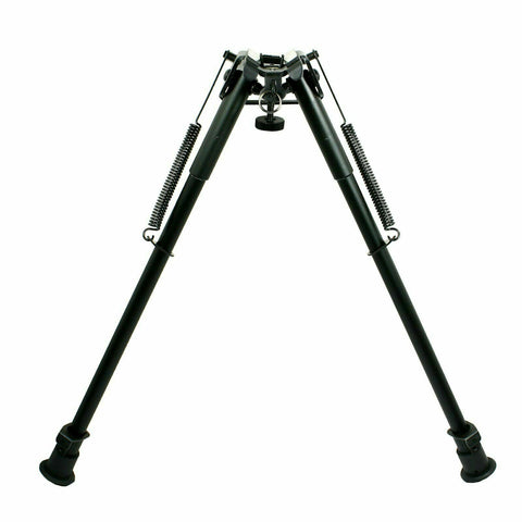 "Image of Bipod 13"" to 23"" Long Hunting Rifle Bipod - Adjustable Legs Sling Swivel Mount"