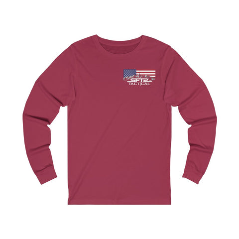 Image of Freedom Fire Flag - Long Sleeve Tee
