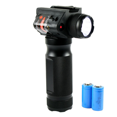 Image of Vertical Foregrip with Combo Light-Strobe-Laser Red or Green