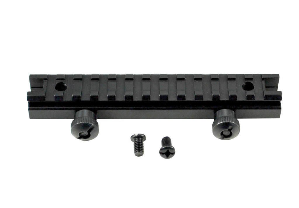 Picatinny Low Profile Scope Riser Mount - 1/2 inch