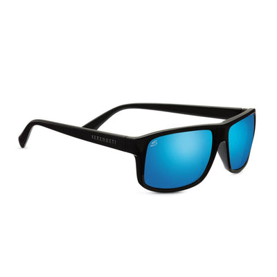 Serengeti Classic Claudio Sunglasses, Satin Dark Gray, Polarized