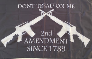 Don't Tread On Me Flag - 2nd Amendment