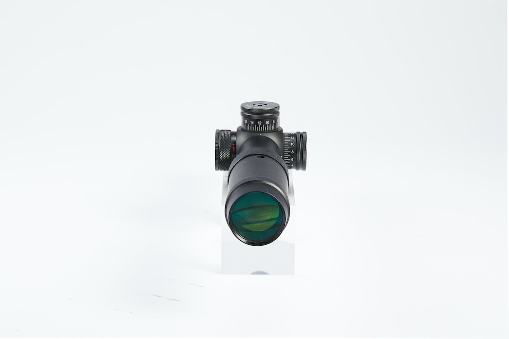 1-5x24 First Focal Plane FFP Scope with Red Green Illuminated MOA Reticle, Anti-Reflection Devices