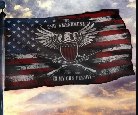 The 2nd Amendment is My Gun Permit Flag