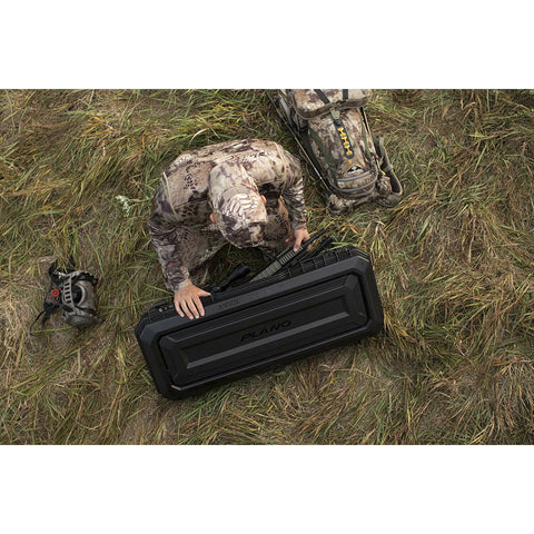 "Image of 36"" All Weather Hard Sided Tactical Rifle Long Gun Case - Black"
