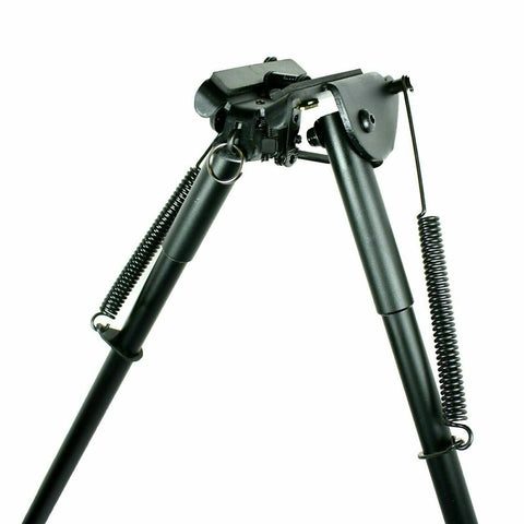 "Image of Bipod 13"" to 23"" Long Hunting Bipod - Adjustable Legs Sling Swivel Mount"