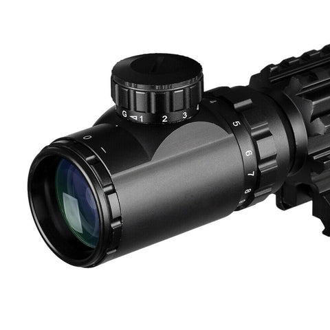 Image of Top Seller! 4-16x50 3-in-1 Illuminated Reticle Rangefinder Scope 4 Mode Holographic Sight and Green or Red Laser