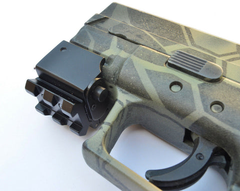 2.5-10x40 Illuminated Optic with Integrated Red Laser