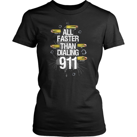 All Faster than Dialing 911! - Stand for the 2nd
