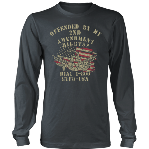 Image of HOT NEW DESIGN! Offended by My 2nd Amendment Rights?