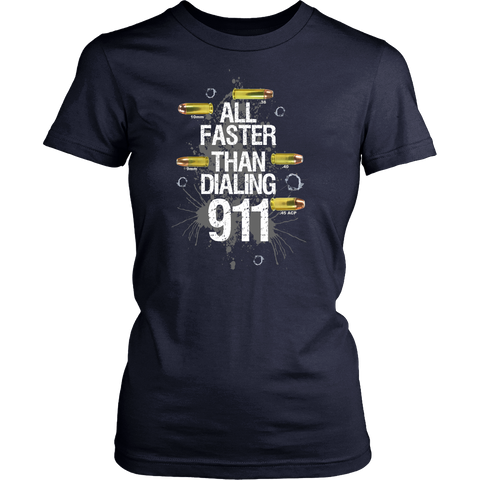 Image of All Faster than Dialing 911! - Stand for the 2nd