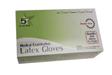 Latex Exam Gloves by 5 Star Supply