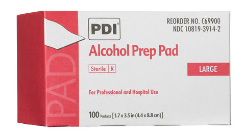 PDI Alcohol Prep Pads (Large)