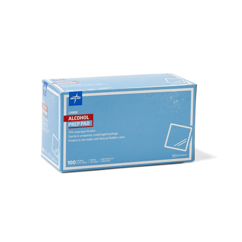 Medline Sterile Alcohol Prep Pads Box