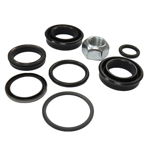 """Oil and Grease Seal 1.772/""""x 2.598/""""x 0.394/"""" Inch Rubber Covered Double Lip w//Gart"""