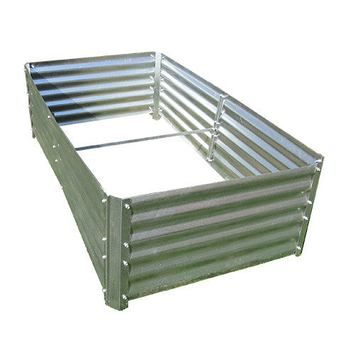 4 foot x 7.5 foot Sioux Steel Verdant Garden Box