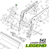 542 JD Green Loader Parts for Purchase