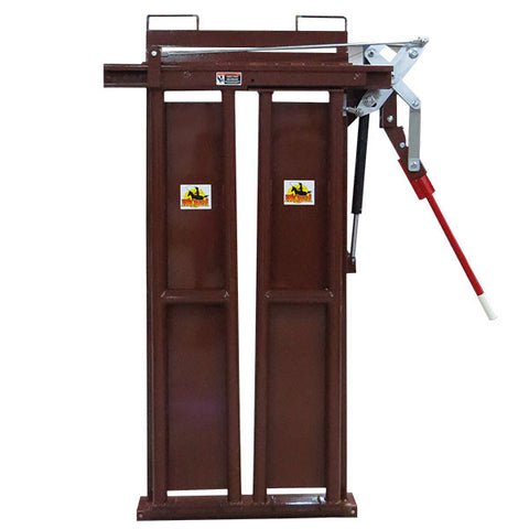 Brown HiQual Manual Head Gate
