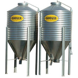 Sioux Steel Bulk Feed Bins with Side Valve