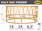Sioux Steel Calf Hay Feeder Features