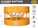 Closed-Bottom-Hay-Max-Feeder-Features