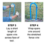 How to use the Texas Fence Fixer Steps 3 and 4