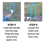 How to use the Texas Fence Fixer Steps 5 and 6