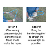 How to use the Texas Fence Fixer Steps 1 and 2