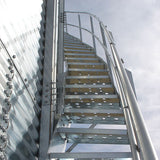Stairs for Sioux Steel Grain Bin Roof Access