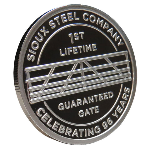 Lifetime Guaranteed Gate Collector Medallion 2014