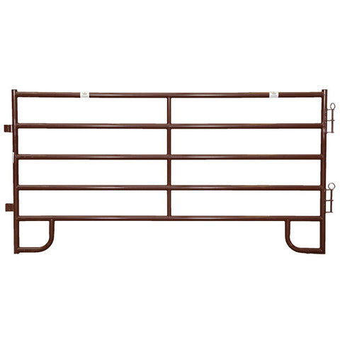5 Bar 60 Inch Tall Brown Corral Panels