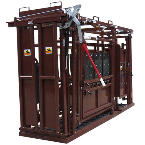 HiQual Brown Chute for Cattle