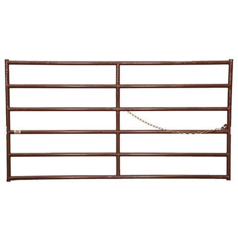 HiQual Brown Super Six Heavy Duty Gates