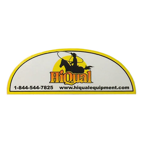 HiQual Product Decal Round Top Part 203677
