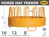 Sioux Steel Horse Hay Feeder Features