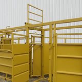 Lift and Drop Gate While Working Cattle