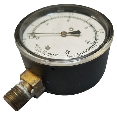 Low PSI Gauge