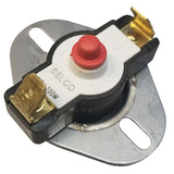Manual Reset High Limit Switch Part
