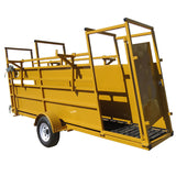 6000 lb Load Capacity Portable Loading Chute