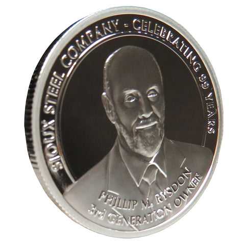 Phil Rysdon 2017 Collectors Medallion