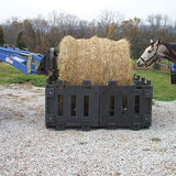 UV Resistant Poly Panel Hay Feeder